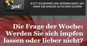 50€ Amazon Gutschein zu gewinnen