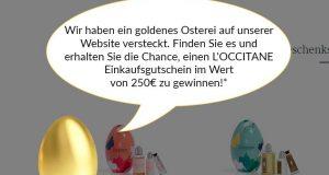 L'OCCITANE Einkaufsgutschein zu gewinnen