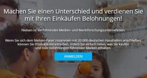 Nielsen Homescan: verdienen Sie Geld, in dem Sie Ihre Einkäufe scannen