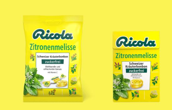 250 Tester für Ricola Zitronenmelisse gesucht