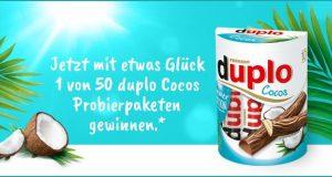 50 Duplo Cocos Probierpakete zu gewinnen